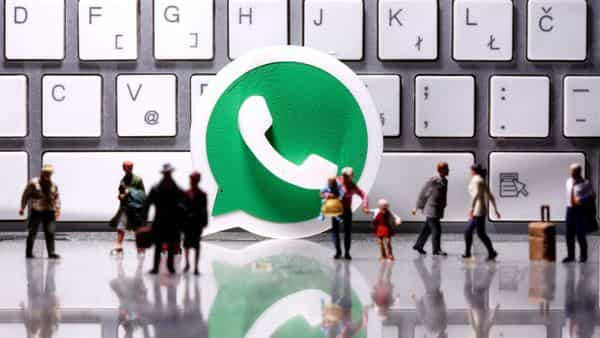 A report claims to have spotted a shortcut on WhatsApp Web for Messenger Rooms (REUTERS)