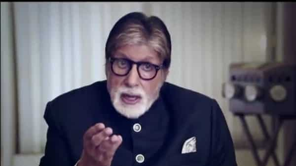 Actor Amitabh Bachchan in 'Break the stigma' campaign.