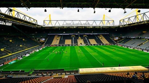 Football S New Abnormal When Dortmund Played Schalke In The Bundesliga