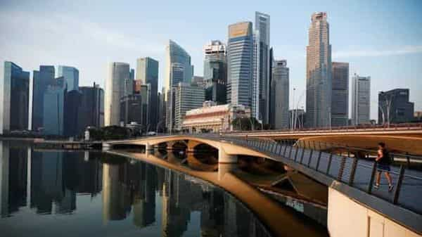 Singapore, an international trading hub, has already seen exports ease this year. Photo: Reuters