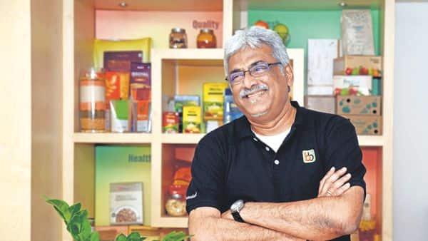 Bigbasket CEO Hari Menon. (Mint )