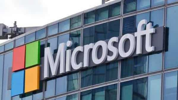 FILE - This April 12, 2016 file photo shows the Microsoft logo in Issy-les-Moulineaux, outside Paris, France (AP)