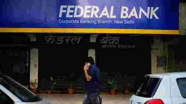 Shares of the Federal Bank gained 4.27% to close at  ₹42.75 apiece, while the benchmark Sensex index gained 1.88% to close at 32,200.59 points  (Photo: Mint)