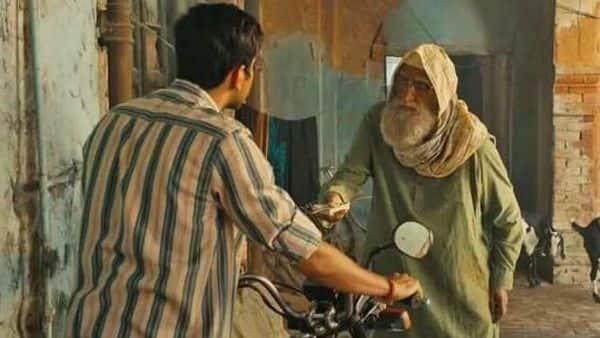 'Gulabo Sitabo' pairs Amitabh Bachchan and Ayushmann Khurrana.