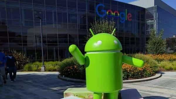 Android statue at Google campus in Mountain View, California. (Photo: Associated Press)