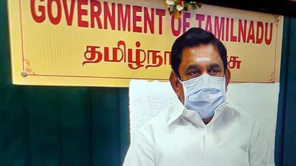 Tamil Nadu Chief Minister Edapadi Palaniswami.