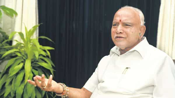 Karnataka chief minister B.S. Yediyurappa. (Photo: Mint)