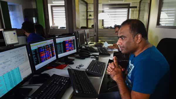 Sensex was up over 1,700 points in noon trade (PTI)