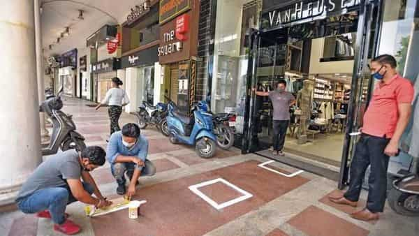 Individual awareness and hygiene will be key as people return to work and socializing in metropolitan cities.  (Photo: Ajay Aggarwal/HT)