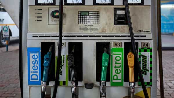 Petrol pumps are open across India but have been asked to follow social distancing measures due to the Covid situation. (Reuters)