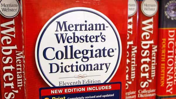 Merriam-Webster sees increased usage of doomsurfing and doomscrolling but the terms haven't met the criteria for being added to the dictionary yet. (Photo by Tim Boyle / GETTY IMAGES NORTH AMERICA / AFP) (AFP)