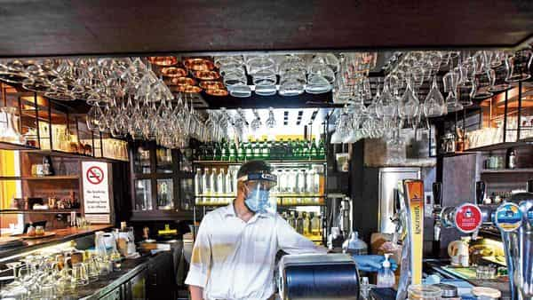 Restaurants that have reopened after the coronavirus lockdown have been forced to deal with a plethora of restrictions. (Photo: HT)