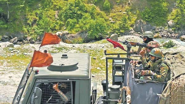 There is no mutually agreed Line of Actual Control (LAC) along certain stretches of the 3,488-km long India-China border and both sides claim parts of it as their own