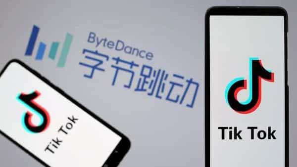 FILE PHOTO: TikTok logos are seen on smartphones in front of a displayed ByteDance logo in this illustration taken Nov. 27, 2019. REUTERS/Dado Ruvic/Illustration/File Photo (REUTERS)