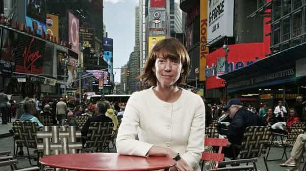Former commissioner of the New York City Department of Transportation Janette Sadik-Khan.