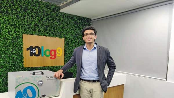 Akshay Singhal  co-founder of Log 9 Materials