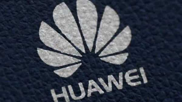 FILE PHOTO: The Huawei logo is seen on a communications device in London, Britain, January 28, 2020. (REUTERS)