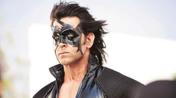 A still from movie Krrish 3.