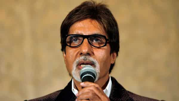 FILE PHOTO: Bollywood actor Amitabh Bachchan speaks during a news conference to promote his film (REUTERS)