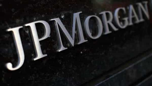 A sign outside the headquarters of JP Morgan Chase & Co (REUTERS)