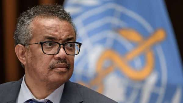 World Health Organization (WHO) Director-General Tedros Adhanom Ghebreyesus (REUTERS)