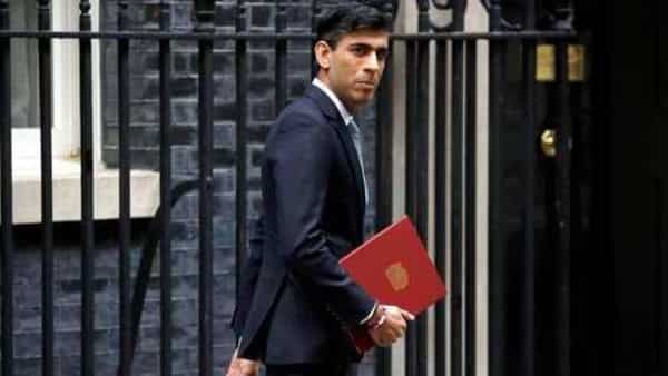 British Chancellor of the Exchequer Rishi Sunak (AP)