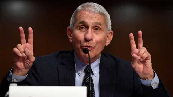 A file photo of Dr Anthony Fauci. (REUTERS)