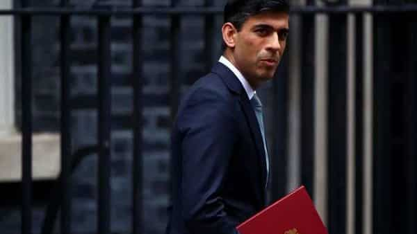 Britain's Chancellor of the Exchequer Rishi Sunak (REUTERS)