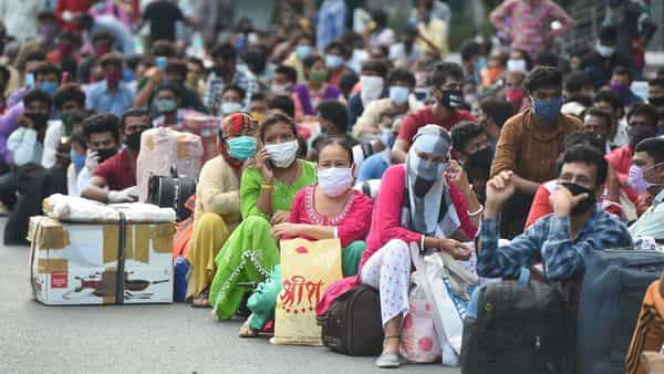 Migrants from West Bengal (PTI)