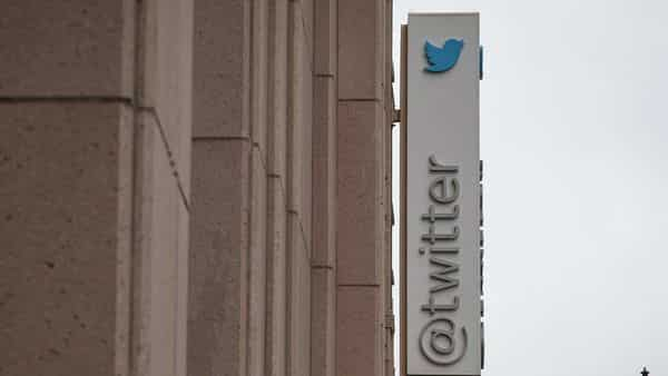 Signage is displayed outside of Twitter headquarters in San Francisco, California, US (Bloomberg)