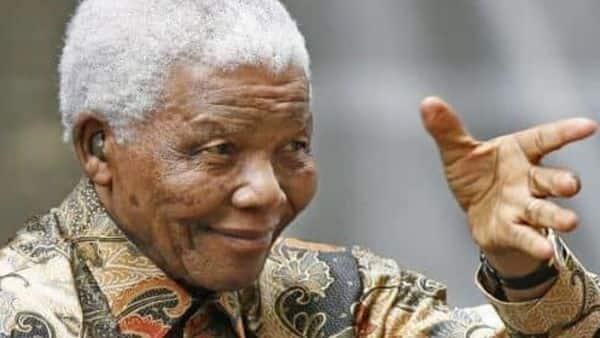 Nelson Mandela's birth anniversary is on 18 July Photo: AFP
