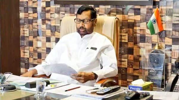 Union Minister of Consumer Affairs Ram Vilas Paswan