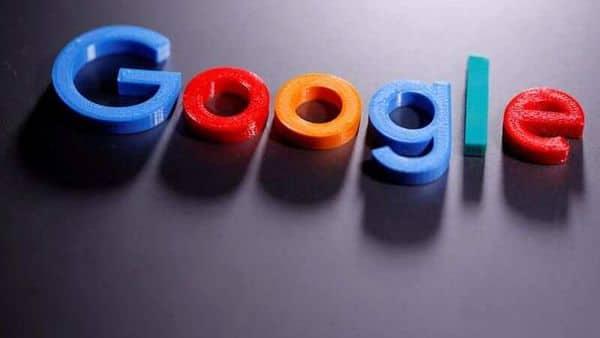 A 3D printed Google logo (REUTERS)