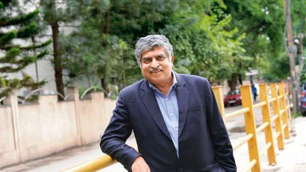 Infosys co-founder and Aadhaar architect Nandan Nilekani. (Mint)