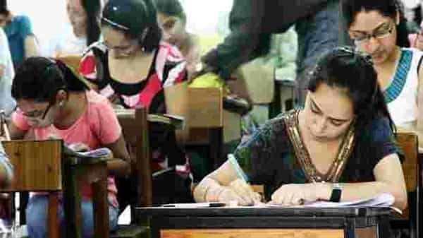 The board examinations were disrupted due coronavirus pandemic. Photo: Hindustan Times