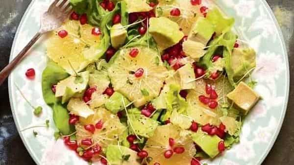Sweet lime salad. Photographs by Nandita Iyer