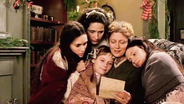 The basic functioning of a family depends upon communication. Talking establishes strong bonds between parents and children. (A scene from 'Little Women', 1994)