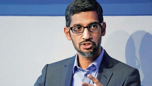 Google chief executive Sundar Pichai (Reuters)