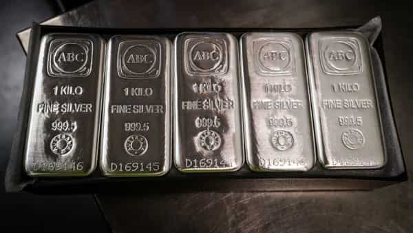 Silver rates today: On MCX, prices today surged to  ₹67,560 per kg