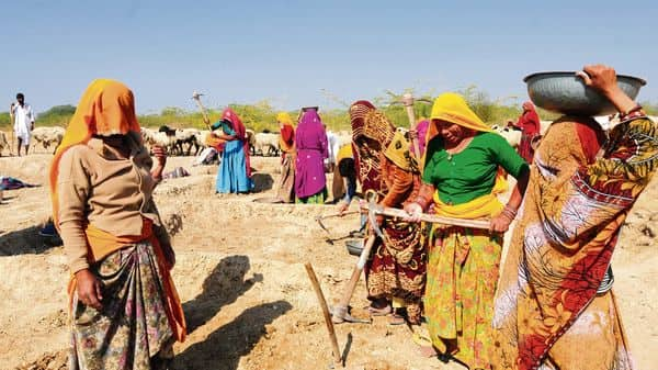 Job losses in rural areas may push labourers to come to cities again, say experts. (Ramesh Pathania/Mint)