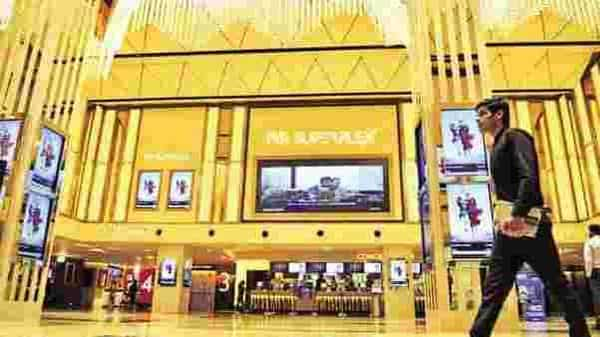 A customer's loyalty towards the multiplex is more firm and inelastic, and this helps the mall in increasing its repeat visitor count. Photo: Priyanka Parashar/Mint