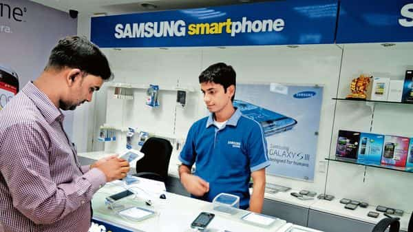 Samsung gained market share in the smartphone space. (Mint)