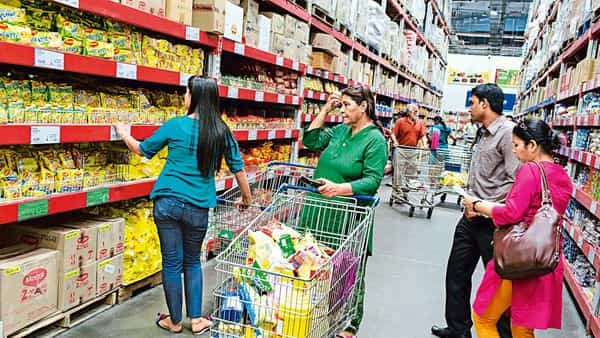 FMCG sales registered a 4.5% year-on-year value growth in June as more stores opened up post the lockdown. (Bloomberg)