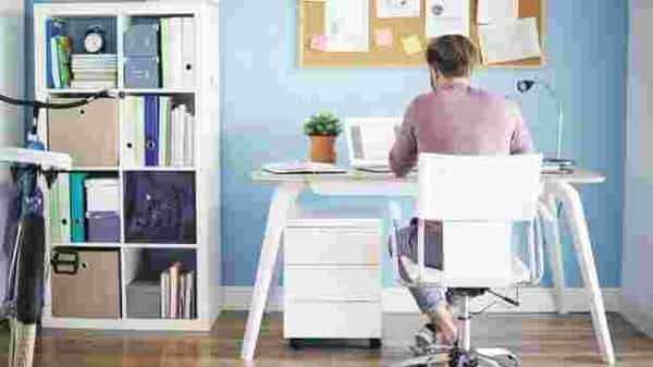 Working from home blurs the line between work and personal life, which stresses out employees, finds a new study. Photo: iStockphoto