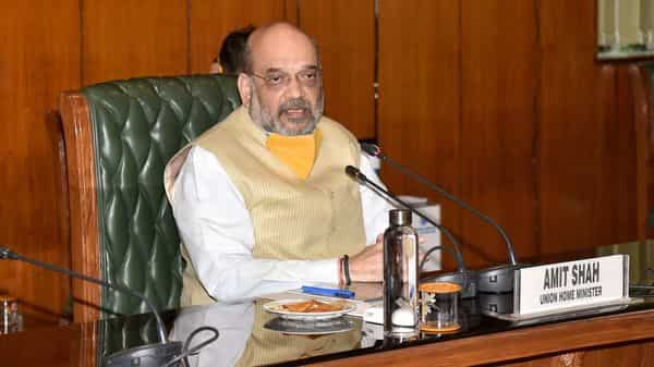 My health is fine, but I am being admitted to the hospital on the advice of doctors, Amit Shah said today (PTI)