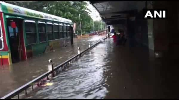Mumbai rains: Western line completely stopped; BEST bus services diverted