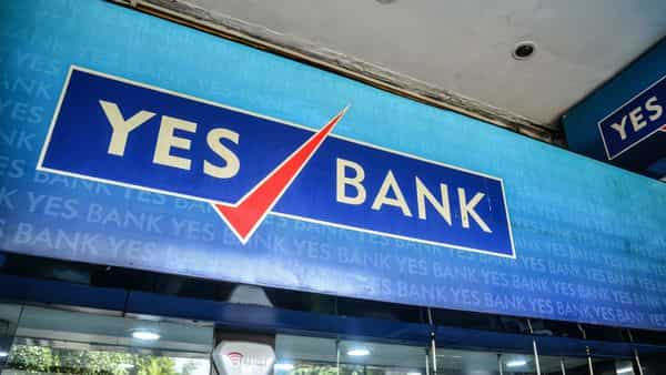 On Friday, shares of Yes Bank traded nearly 5% higher at  ₹14.10 apiece on the NSE. (Photo: Ramesh Pathania/Mint)