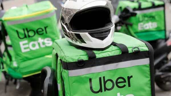 Uber Eats, whose gross bookings more than doubled, narrowed losses. (REUTERS)