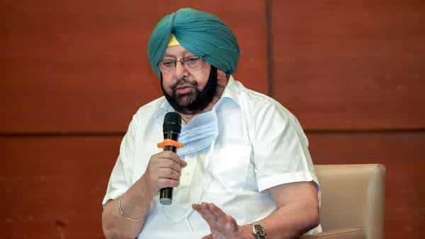 Punjab Chief Minister Captain Amarinder Singh speaks over COVID19 issue, in Chandigarh. (ANI)