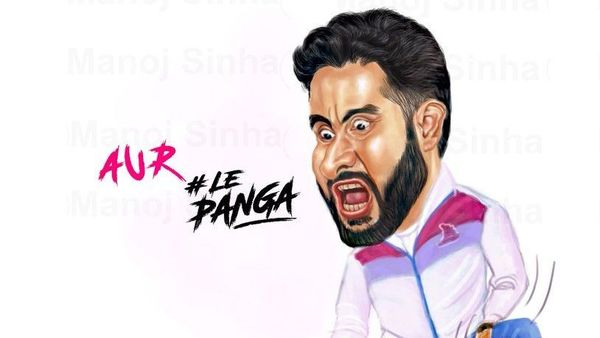 'Le Panga' is the catchline of the Kabaddi team owned by Abhishek Bachchan. (@juniorbachchan)